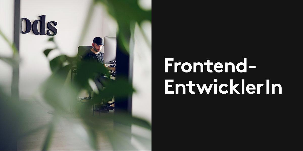 Frontend-Entwickler (m/w) in Vollzeit